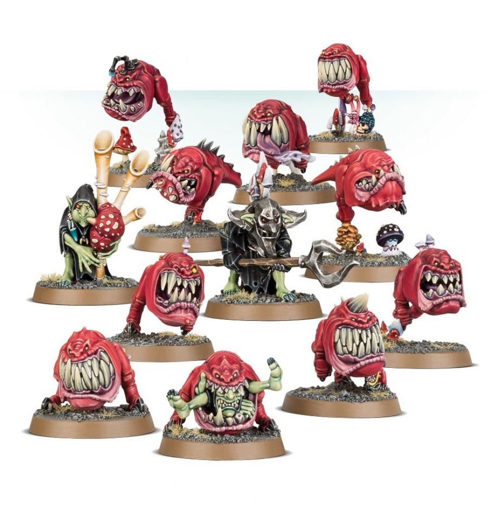 AoS Start Collecting Gloomspite Gitz Squigs Herd
