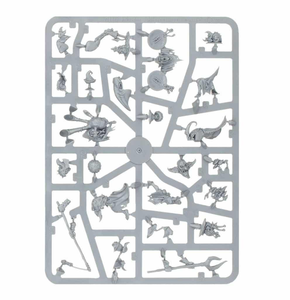 AoS Start Collecting Gloomspite Gitz Squigs Herd sprue