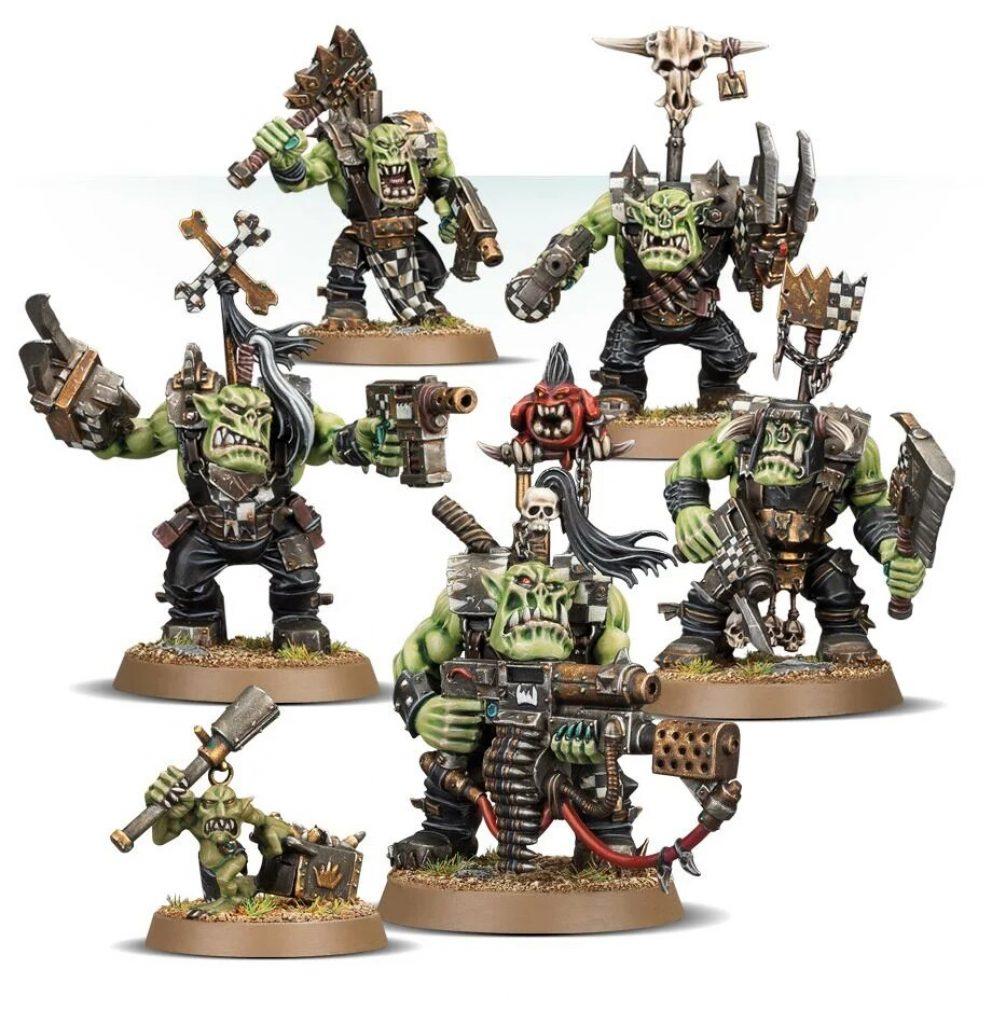 Start Collecting Orks Warhammer 40K Nobz