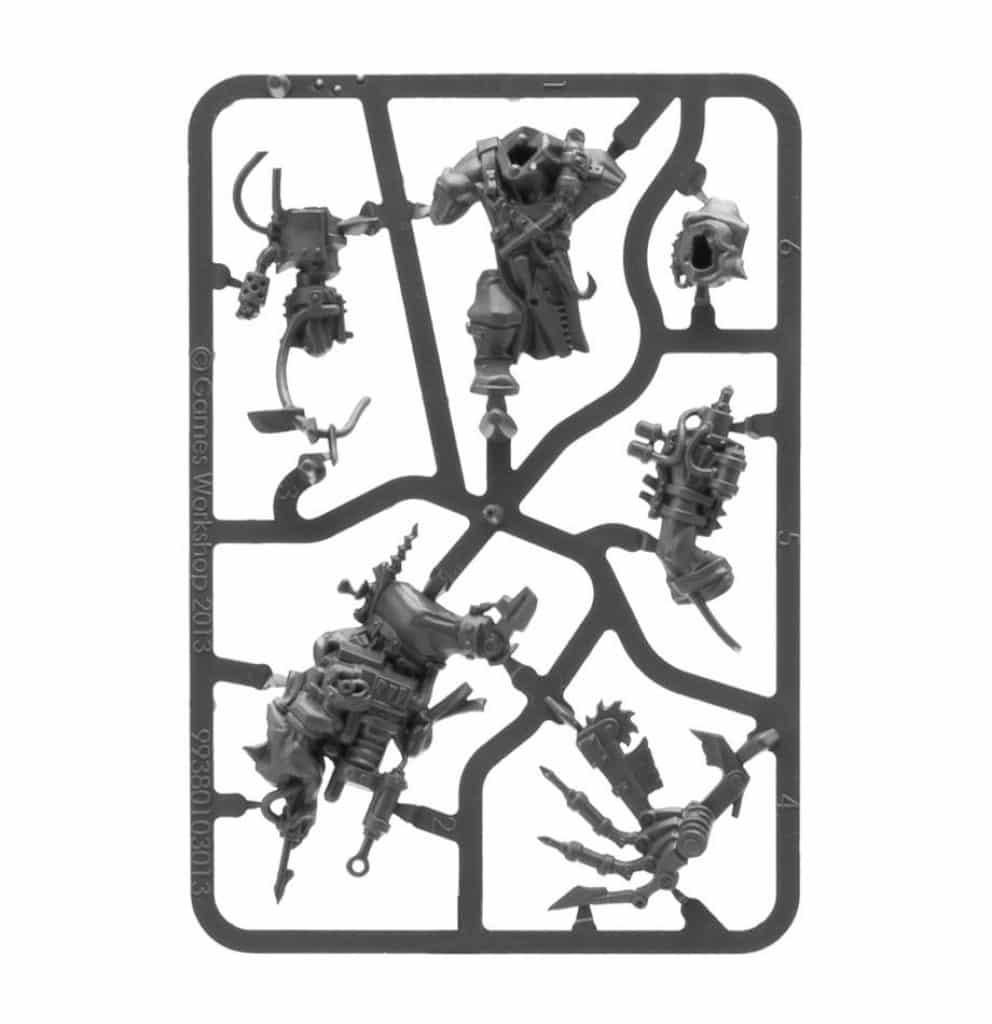 Start Collecting Orks Warhammer 40K painboy Sprue