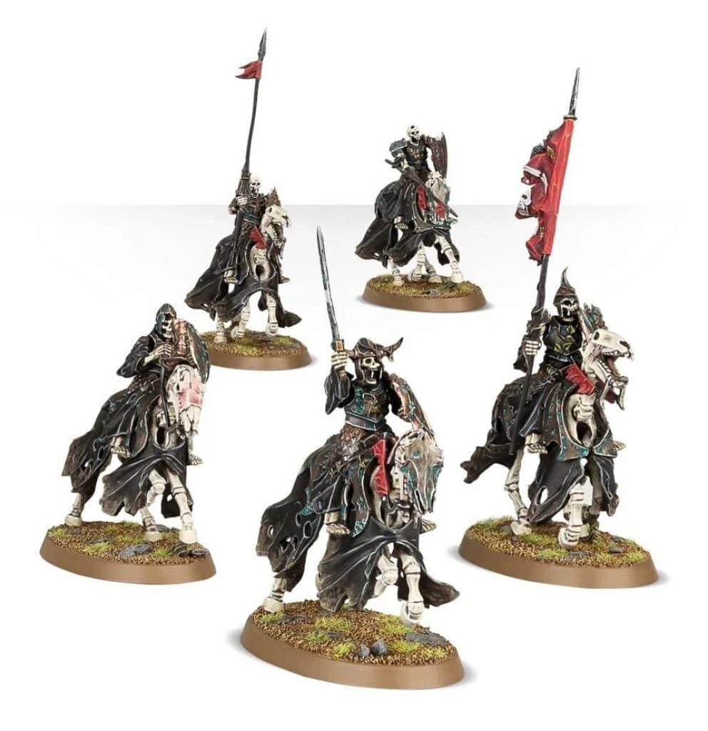 Start collecting Skeleton horde AoS Black Knights