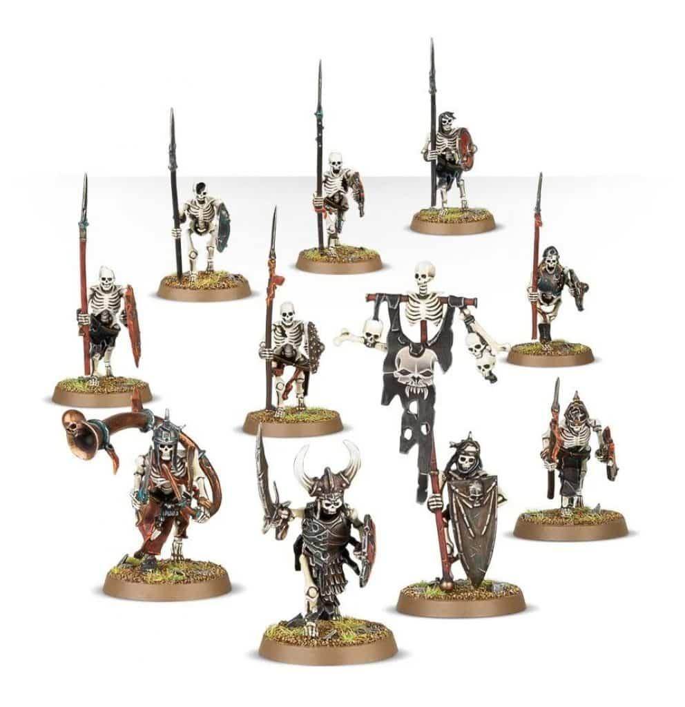 Start collecting Skeleton horde AoS Skeleton Warriors