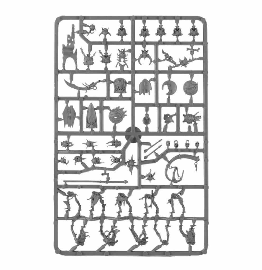 Start collecting Skeleton horde AoS Skeleton Warriors Sprue
