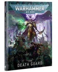Warhammer 40k V9 Death Guard codex